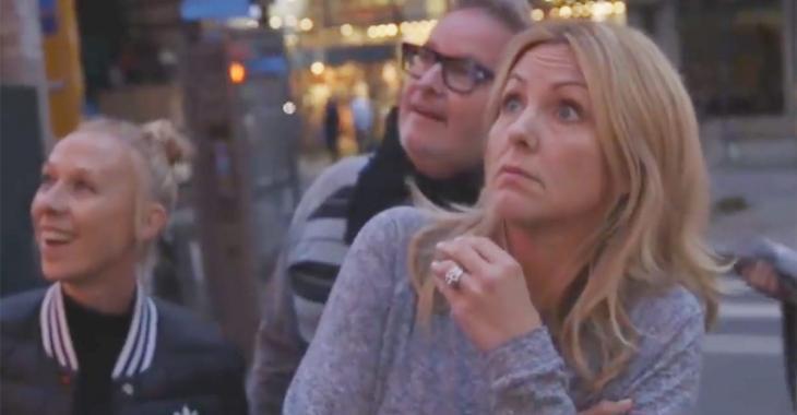Véronique Cloutier a eu un choc majeur en se promenant dans les rues de New York!