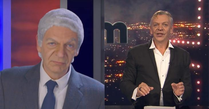 Marc Labrèche ridiculise solidement Luc Lavoie et c'est à mourir de rire!
