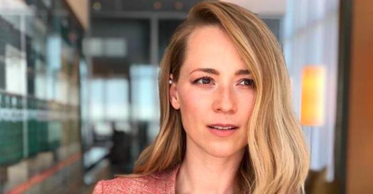 Karine Vanasse réagit à l'annonce de la fin de Blue Moon