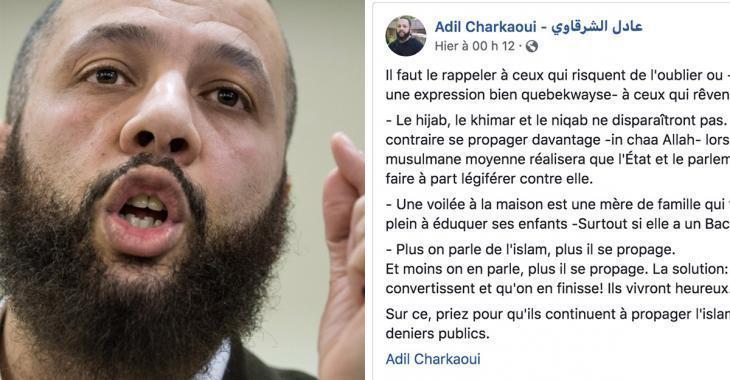 Voile islamique: un Imam montréalais sème la controverse avec un statut Facebook