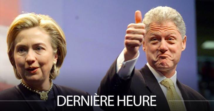 DERNIÈRE HEURE: Une bombe trouvée chez Bill et Hillary Clinton