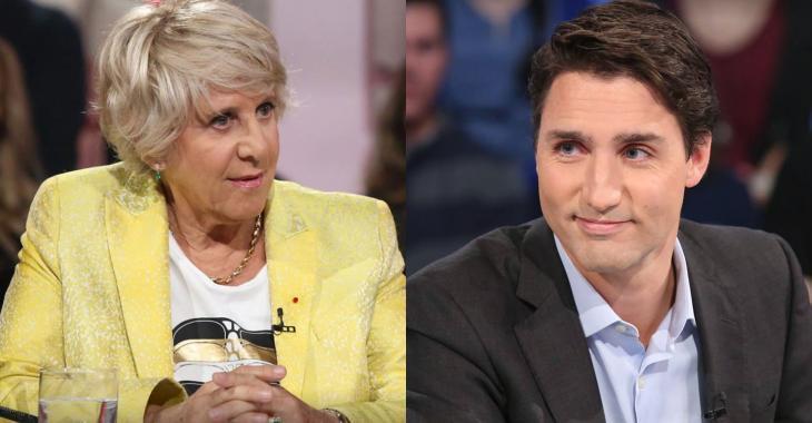 Denise Bombardier récidive : cette fois, elle s'en prend à Justin Trudeau!