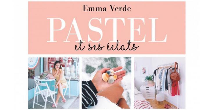 La Youtubeuse Emma Verde lance un nouveau livre pétillant tout comme elle