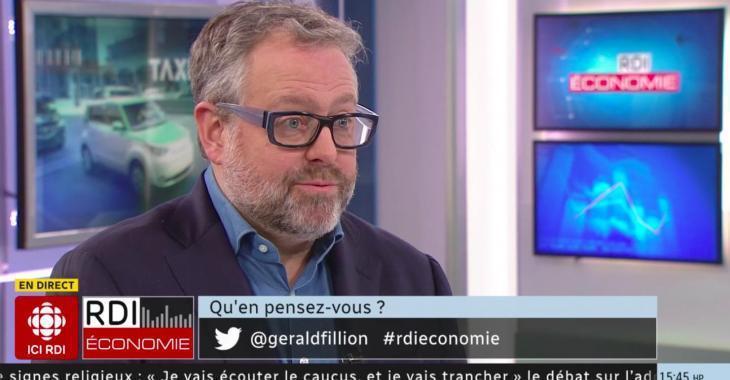 À VOIR: Alexandre Taillefer crée le malaise de la semaine en entrevue avec Gérald Fillion