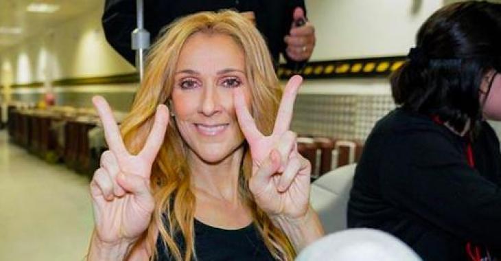 Céline Dion se prend pour Mary Poppins