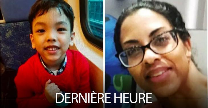 ALERTE AMBER: Un petit garçon de 5 ans aurait été enlevé par sa mère