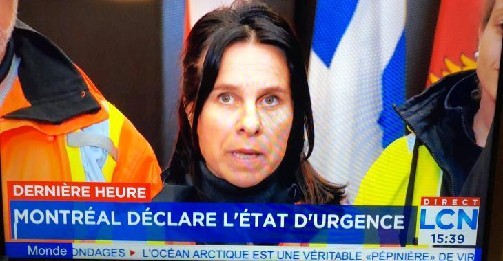 ALERTE: Valérie Plante déclare l'état d'urgence à Montréal