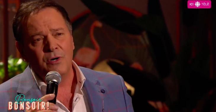 À VOIR: Mario Pelchat offre une performance magique sur le plateau de Bonsoir Bonsoir