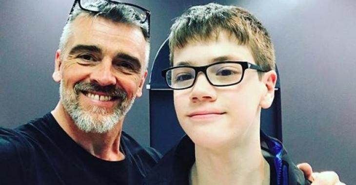Patrice Godin a posé le plus beau des gestes pour un jeune atteint du syndrome d'Asperger