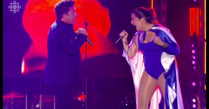 Mariana Mazza fait de nouveaux commentaires sur son baiser avec Éric Lapointe