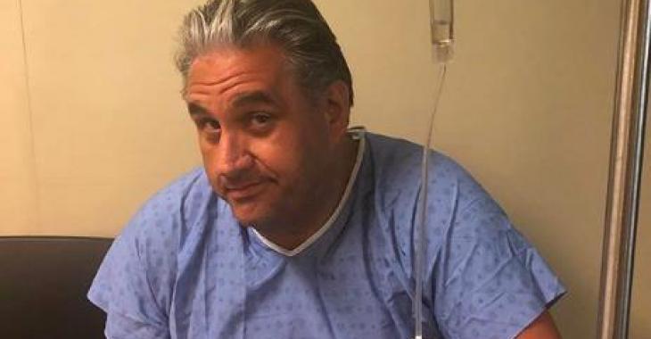 Marc Hervieux a été hospitalisé, samedi
