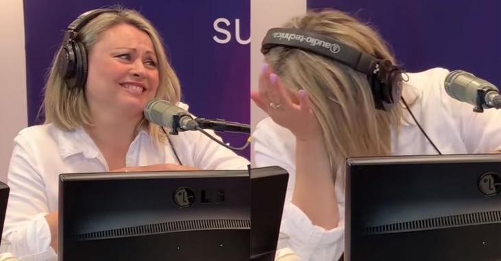 Hilarant malaise en direct à la radio pour Mitsou