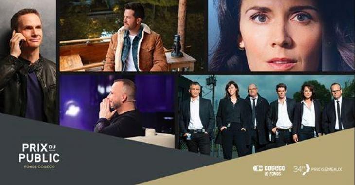 GÉMEAUX: Cinq émissions finalistes pour le Prix coup de coeur du public