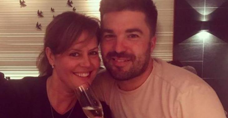 Patricia Paquin et sa petite Florence ont célébré la fête de Louis-François Marcotte de belle façon