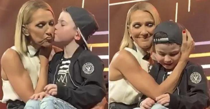 À VOIR: Céline Dion a fait vivre un moment magique au fils de Paul Piché, six ans