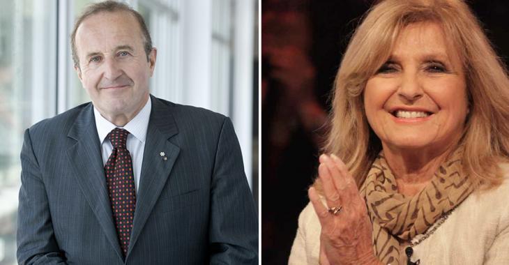 Bernard Derome et Dominique Michel prêtent main-forte au gouvernement pour convaincre les aînés