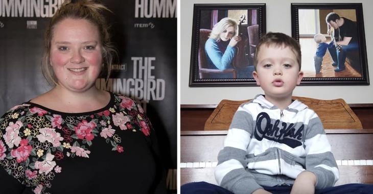 Debbie Lynch-White relaie une vidéo d'un jeune de 5 ans qui chante La Bolduc et notre coeur fond