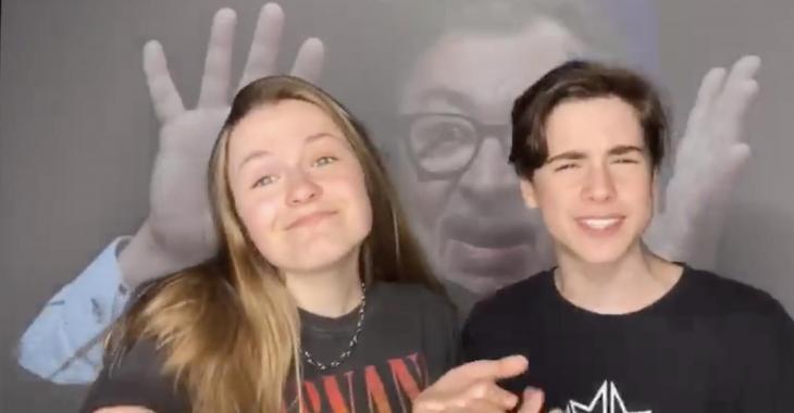 Les enfants de Véro et Louis ont profité du confinement pour créer cette vidéo qui fait le tour du Web