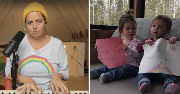 À VOIR: Ariane Moffatt nous offre la vidéo la plus touchante de la journée en reprenant sa chanson Debout