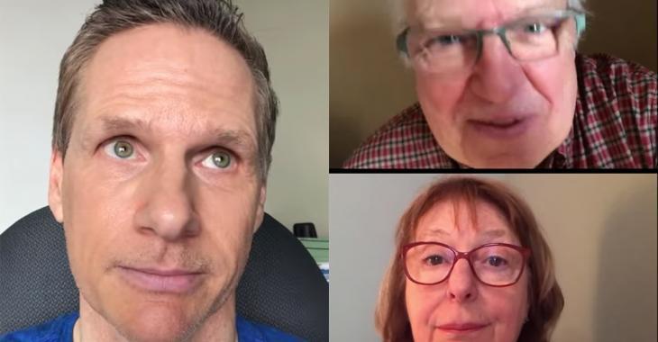À VOIR |Les parents de François Morency nous font mourir de rire pendant leur réunion par vidéoconférence