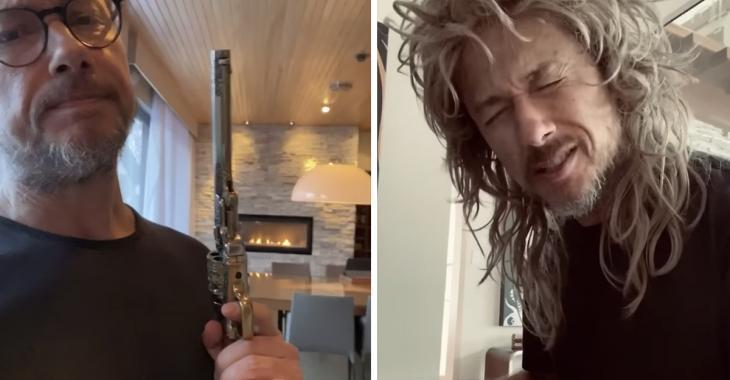 À VOIR: Stéphane Rousseau nous fait éclater de rire dans une vidéo avec ses amis imaginaires