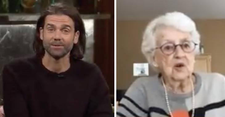 La grand-mère de Jean-Philippe Wauthier vole complètement la vedette à Bonsoir Bonsoir