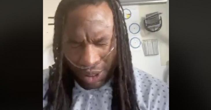 Georges Laraque, atteint de la COVID-19, donne des nouvelles de sa santé «Ça n'a aucun sens»