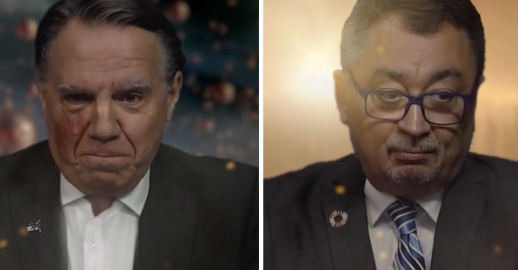 François Legault et Horacio Arruda en vedette dans une nouvelle vidéo qui fait le tour du Web