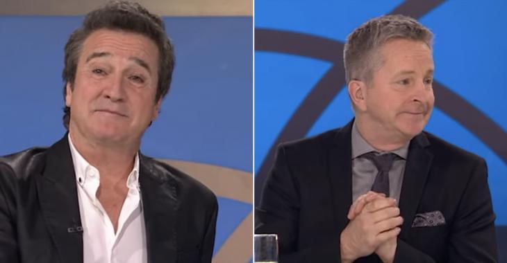 Déluge de larmes sur le plateau des Enfants de la télé pour l'émission spéciale René Simard