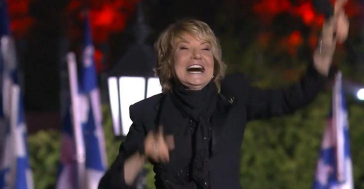 Marjo fait danser tout le Québec et comble les téléspectateurs du spectacle de la fête nationale