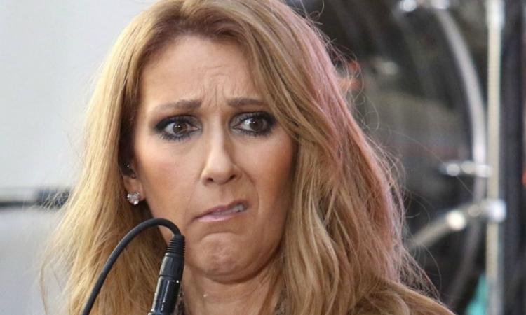 Céline Dion sort de son hôtel sans pantalon... Et toute en brun!